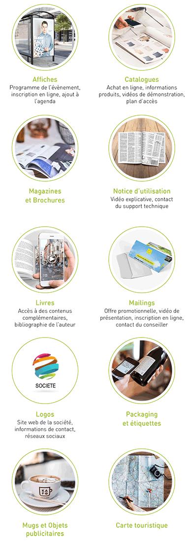 Applications Reconnaissance d'image Mobile