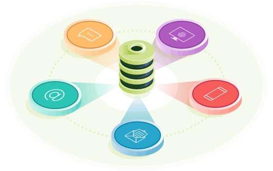 Cross-média - Bases de données et personnalisation