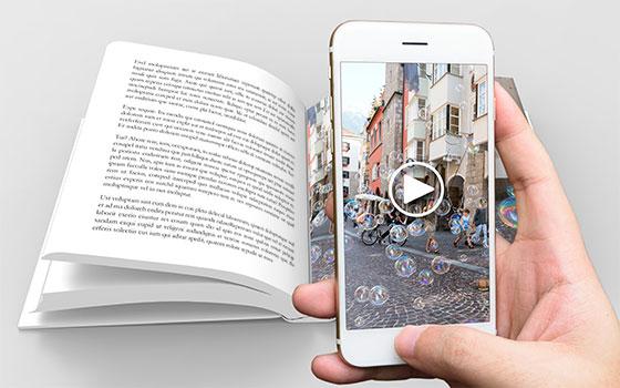 Livre augmenté reconnaissance d'image