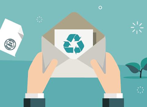 courrier écologique